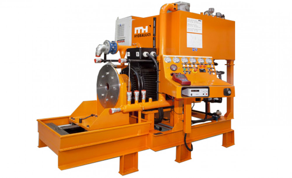 Hydraulic test equipment 140 kw mh hydraulics for Electric motor testing equipment