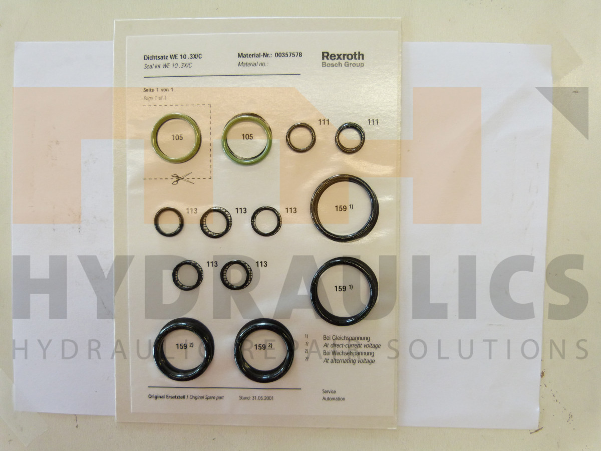 MH | R900357578 | DICHTINGSET | MH Hydraulics